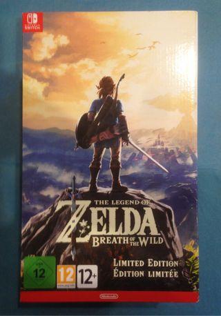Zelda: breath Of The Wild Switch PRECINTADO!!
