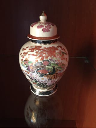 Jarron decorativo japones