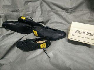 zapatillas vintage ciclista