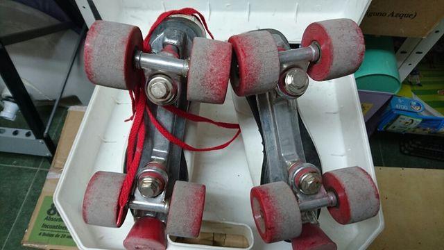 Patines cuatro ruedas talla 39-40