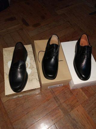 zapatos y mocasines caballero a estrenar