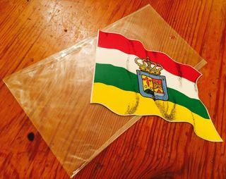 PEGATINA STICKER BANDERA LA RIOJA NUEVA