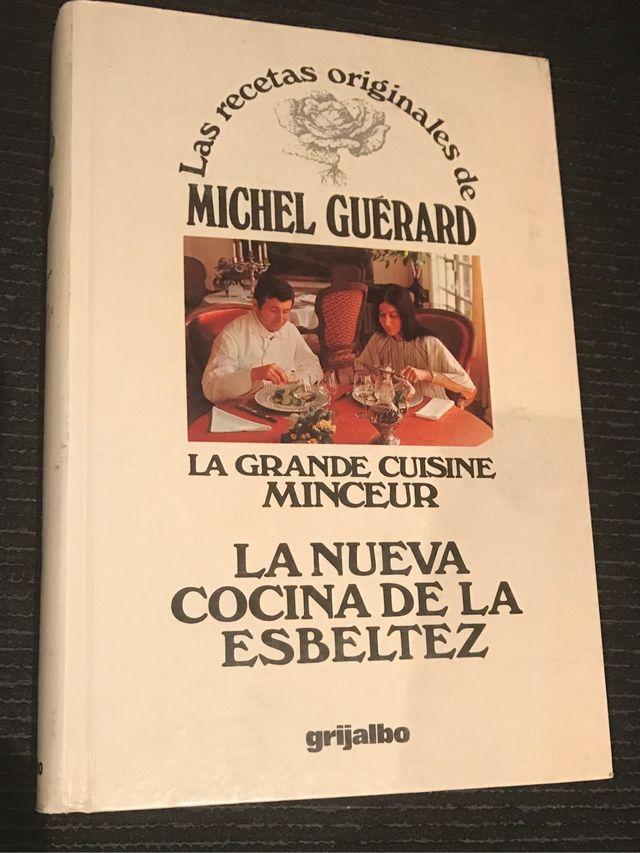 Libro cocina Michel Guerard