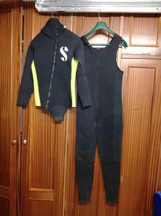 trajes de buzo talla 3