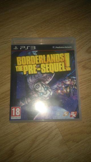 borderlands the pre sequel Juego ps3