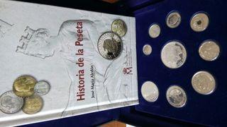 Colección de monedas.