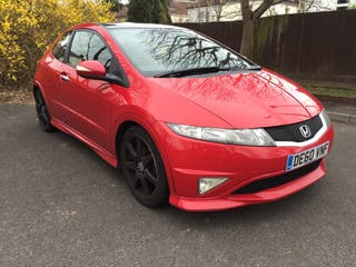 Honda civic 2.2 cdti type s gt 2010, fsh, 2 keys