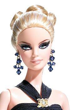 Barbie Badgley Mischka red carpet