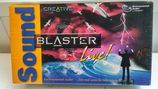 Tarjeta de sonido PC Creative Sound Blaster Live