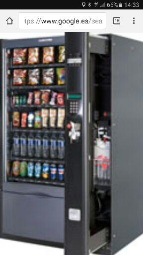 maquina vending azkoyen brisa