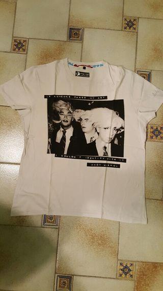 camiseta de Andy Warhol hombre