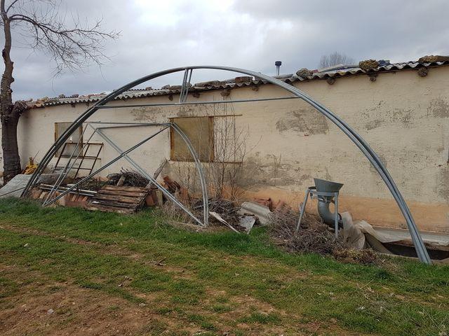 Estructura Invernadero De Segunda Mano Por 200 En Burgos En Wallapop