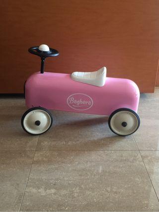 Correpasillo baghera racer. Rosa
