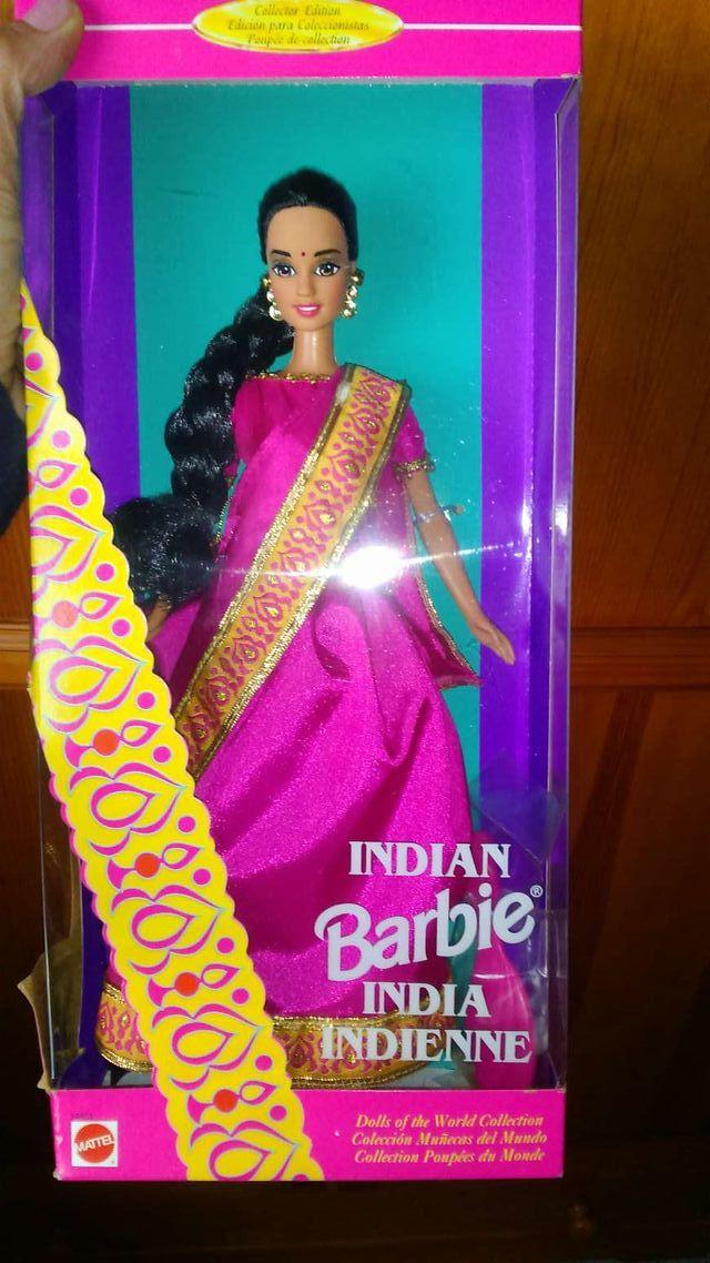 Barbie del mundo india