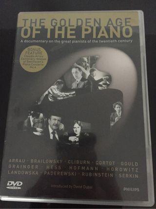 Dvd la edad de oro del piano