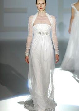 PRECIO NEGOCIABLE Vestido novia Jesus Peiro con torera