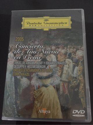 Dvd Concierto Año Nuevo 2005