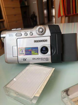 Video cámara Samsung Duo Cam VP-D650 Pal