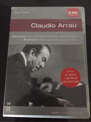 Dvd Claudio Arrau