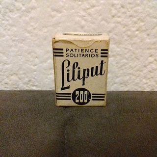 Baraja de cartas Liliput 200 Fournier
