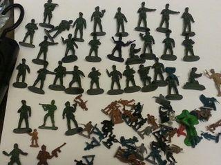 Lotes de soldados.Tipo dunkin