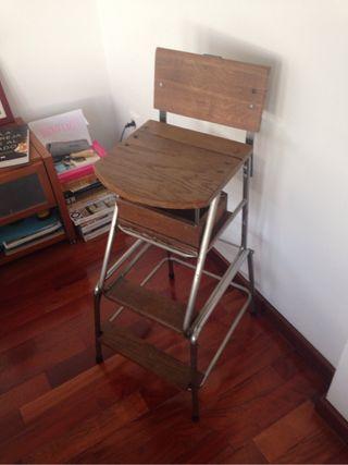 Sillas de escritorio vintage de segunda mano en wallapop - Silla escritorio segunda mano ...