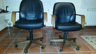 sillones de oficina de cuero