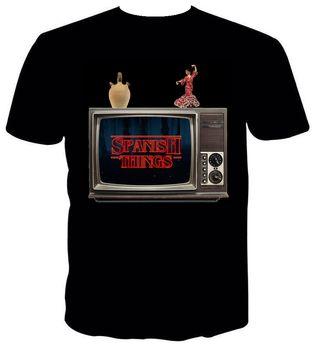 Camisetas de canciones, series, peliculas...