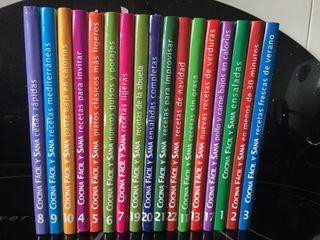 Coleccion 17 libros de cocina. Recetas