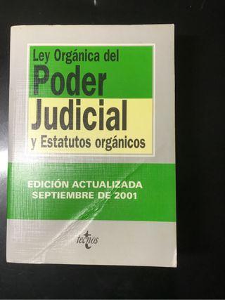 Ley Organica del Poder Judicia