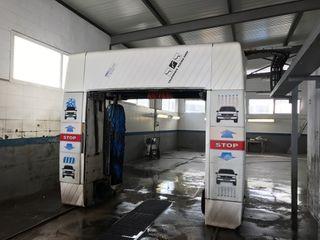 Tunel de lavado automatico
