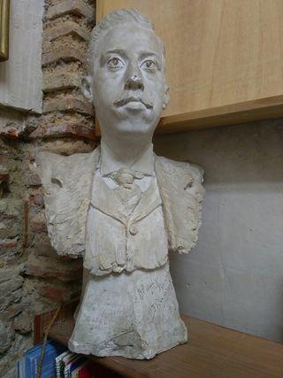 escultura arte estatua de Ignacio Pinazo Martinez