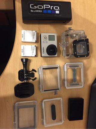 Gopro Hero3 + 10 accesorios