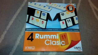 juego de mesa rummy