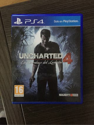 Juego Uncharted 4 Ps4