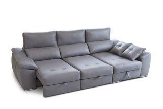 Sofá chaiselongue cama