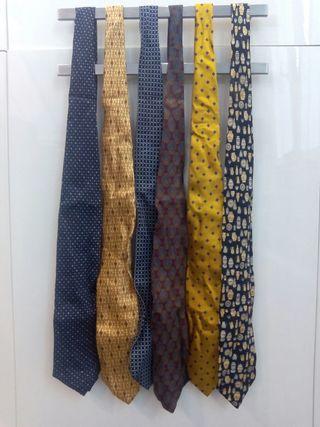 6 Corbatas Gran calidad