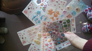 Pegatinas adhesivas / stickers nuevas