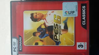 PES 6 (Pro Evolution soccer) PC