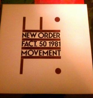 Vinilo L.P. New Order - Movement