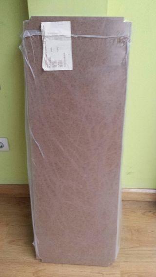 5 baldas de cartón prensado