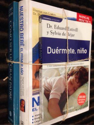 Libros Estivill/Padres/bebes