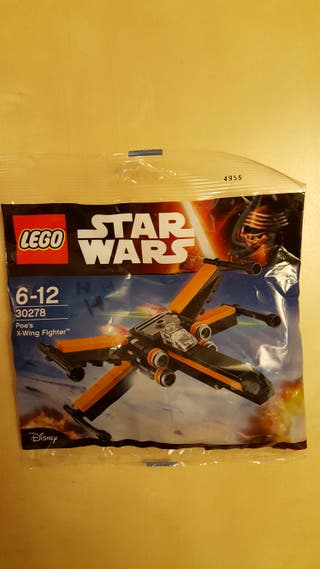 Figura Lego - Poe's X-Wing Fighter.