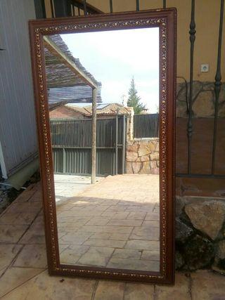 Espejo Grande Madera