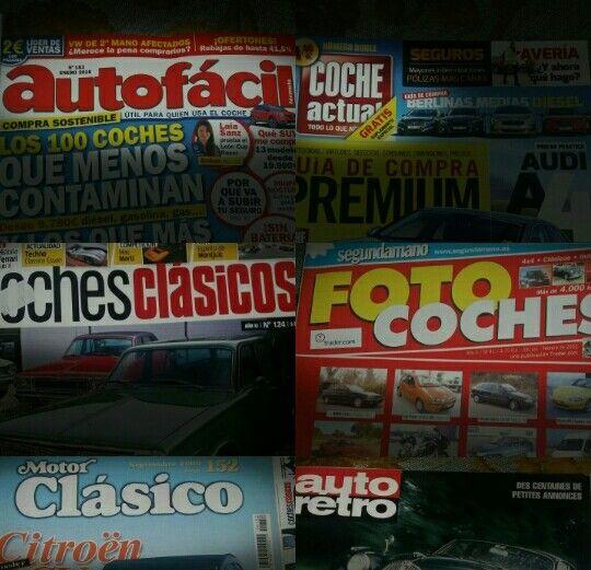 REVISTAS DE COCHES. 6 colecns desde hace 20 años