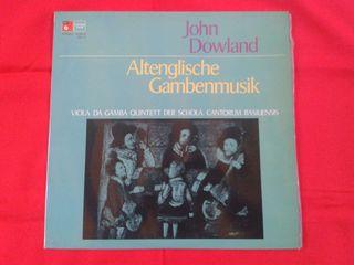 (LP) John Dowland - Antigua música inglesa para viola de gamba