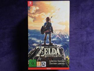 Legend of Zelda Breath of the Wild Switch + MANGA