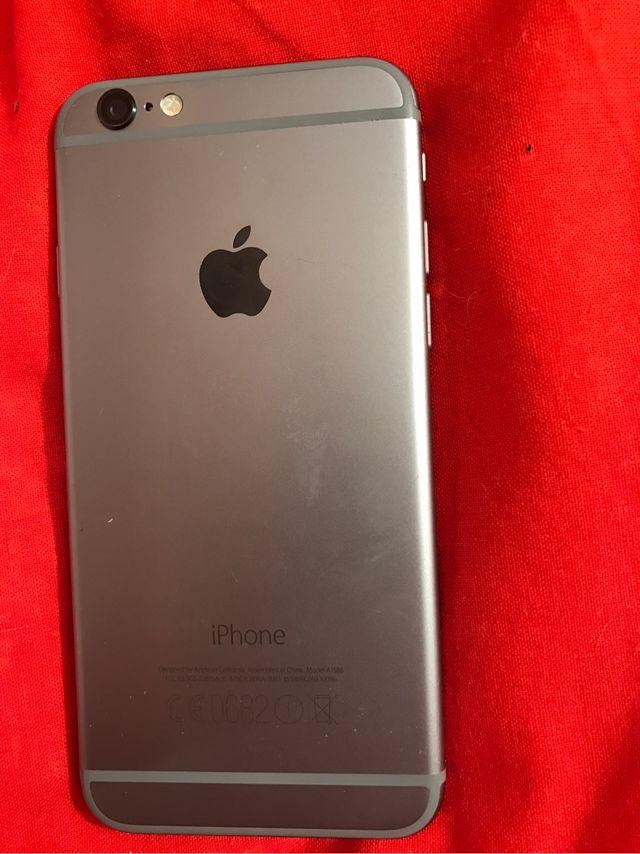 iPhone 6, 16 GB, negro y LIBERADO