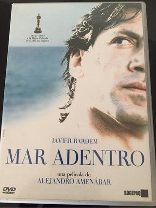 DVD Mar adentro