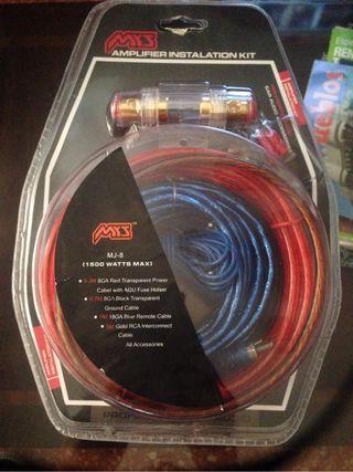 Kit cableado equipo musica